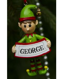 ELF DECORATION  - GEORGE