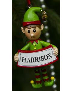 ELF DECORATION  - HARRISON