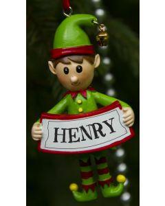 ELF DECORATION  - HENRY