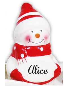 SNOWMAN DECORATION -  ALICE