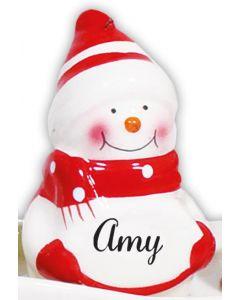 SNOWMAN DECORATION -  AMY