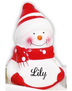 SNOWMAN DECORATION -  LILY
