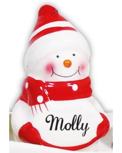 SNOWMAN DECORATION -  MOLLY
