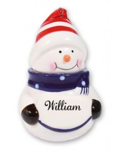 SNOWMAN DECORATION -  WILLIAM