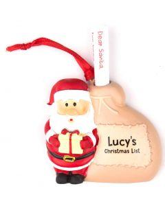 SANTA LIST SACK - LUCY