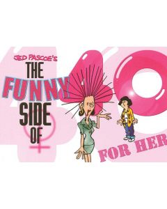 FUNNY SIDE 40 HER - BOOK