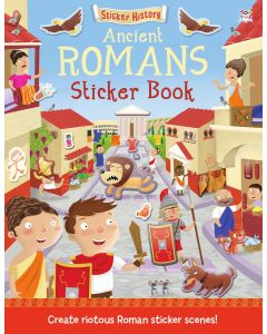 "STICKER HISTORY"":"" ANCIENT ROMANS STICKER"