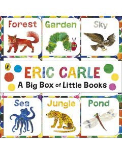 ERIC CARLE A BIG BOX OF LITTLE BOOKS
