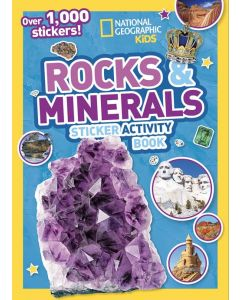 ROCKS AND MINERALS STICKER ACTIVITY BOOK