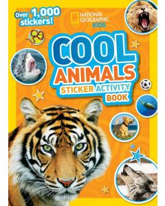 COOL ANIMALS STICKER ACTIVITY BOOK