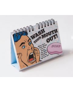 WASH YOUR MOUTH OUT - FLIP BOOK