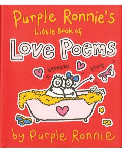 LOVE POEMS - PURPLE RON. LITTLE BOOK